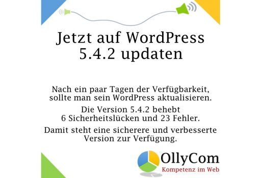 WordPress Update 5.4.2